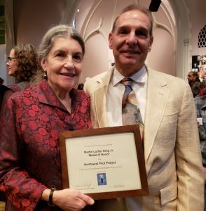 Bobby and Susan MLK award
